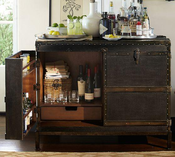 Mayfair Black Bar Cart
