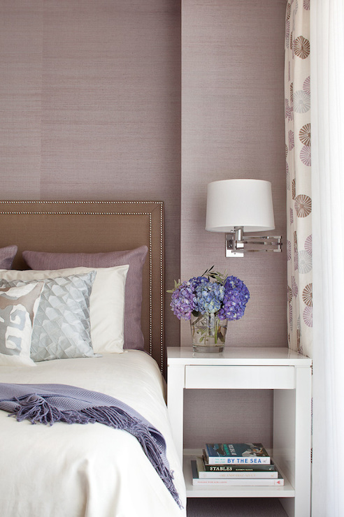 Mauve Pink Bedrooms Design Ideas