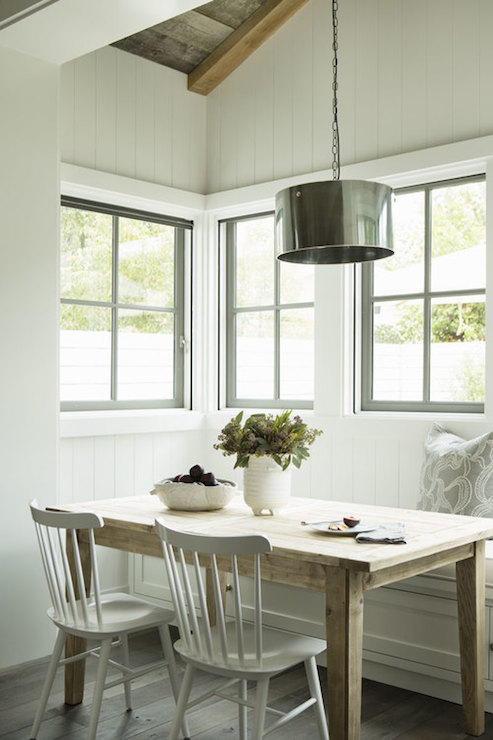 Breakfast Nook Ideas  Cottage  dining room  Eric Olsen