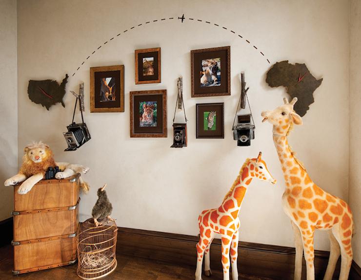 Safari Kids Room  Eclectic  Boy's Room  Betty Lou Phillips