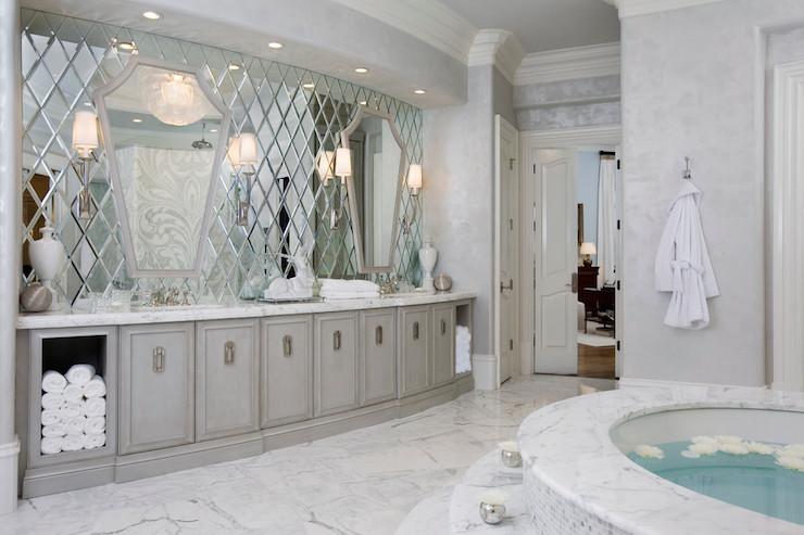 Spa Bathroom Ideas  Contemporary  bathroom  Habachy Design