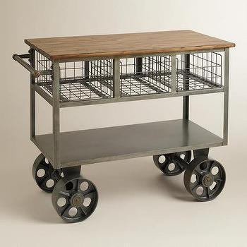 Jackson Kitchen Cart  World Market