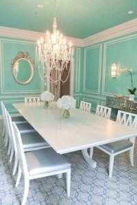 Tiffany Blue Wall Color Design Ideas