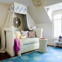 Daybed Canopy - Contemporary - girl's room - Jennifer ...