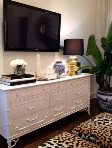 Bamboo Dresser  Transitional  bedroom  Luxe Report