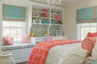 Kids Window Seat - Traditional - girl's room - Nest Studio
