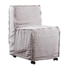 Anna Slipcover Chair Collection Amazing Pocket Block Print Long World Market Grey Dining