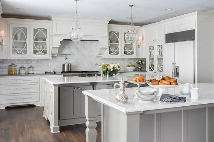 Double Kitchen Islands Transitional Casa Verde Design