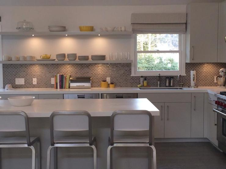 Yellow and Gray Kitchen  Contemporary  kitchen  Bella