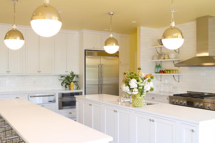 ikea kitchen upper cabinets soap dispenser parts caesarstone pure white countertops - transitional ...