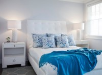 Ice Blue Faux Suede Design Ideas