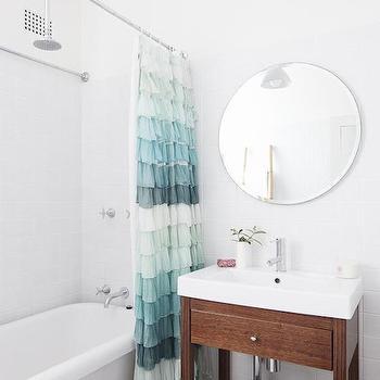 round ceiling mount shower curtain rod