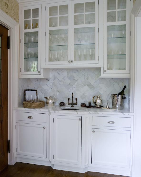 Wet Bar Sink  Transitional  kitchen  Veranda Interiors