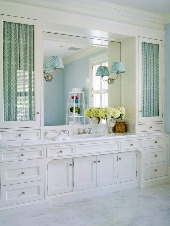 Custom Built Vanity Transitional Bathroom Thornton Designs
