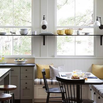 Windows Instead Of Upper Cabinets Design Ideas