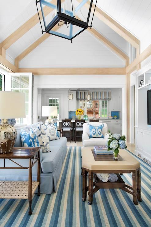 dark blue kitchen cabinets splash guard open concept living room design ideas