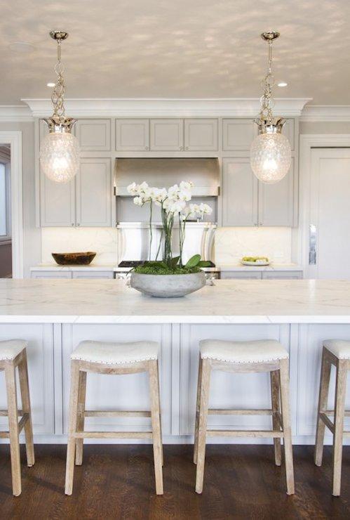 Pineapple Light Pendants  Transitional  kitchen  Marsh and Clark