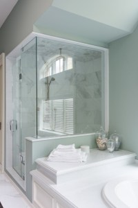 Shower with Bathtub Attached - Transitional - bathroom ...