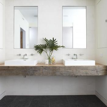 Floating Bathroom Vanity  Modern  bathroom  Feldman