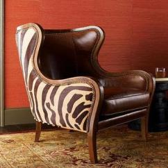 High Backed Chair Niels Diffrient Freedom Massoud Black Zebra Leather Dining I Horchow