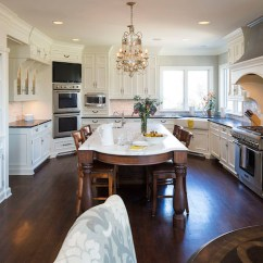 Freestanding Kitchen Sink Black Cabinet Pulls Corner Ovens - Transitional Hendel Homes
