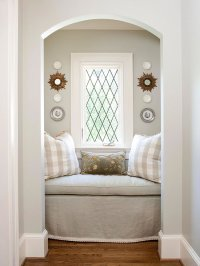 Arched Reading Nooks - Cottage - bedroom - BHG