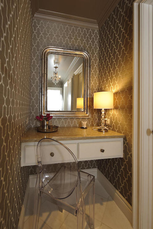 Floating Dressing Vanity  Contemporary  bathroom
