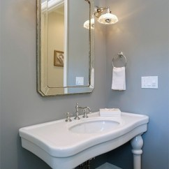 Tiles Design Living Room Modern Ideas For Small Parisian Pedestal Sink - Transitional Bathroom Core ...