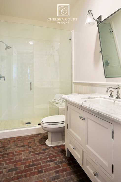 kitchens for less large kitchen window treatments brick floor - transitional bathroom chelsea court designs