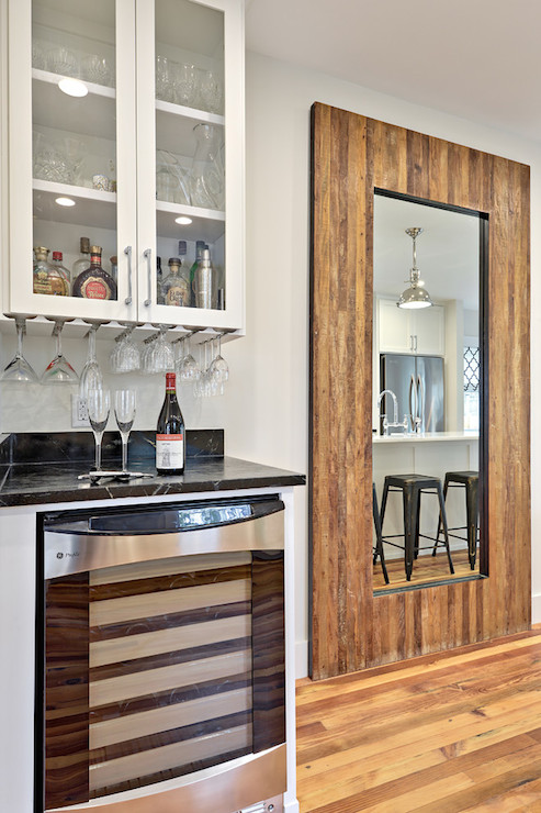 Under Cabinet Wine Rack  Cottage  kitchen  Benjamin