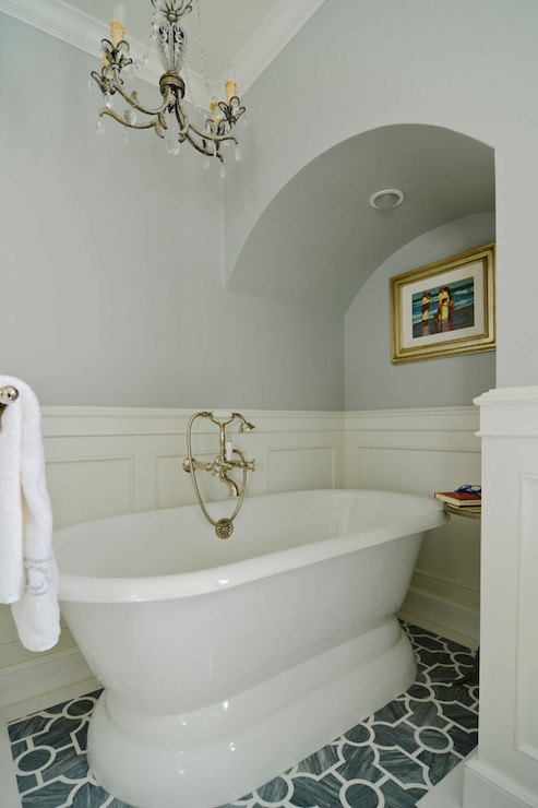 Bathroom Wainscoting  Eclectic  bathroom  FGY Architects