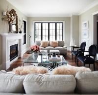 Light Grey Sofa - Contemporary - living room - The Design ...