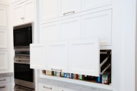 Pull Up Cabinets - Transitional - kitchen - Benjamin ...