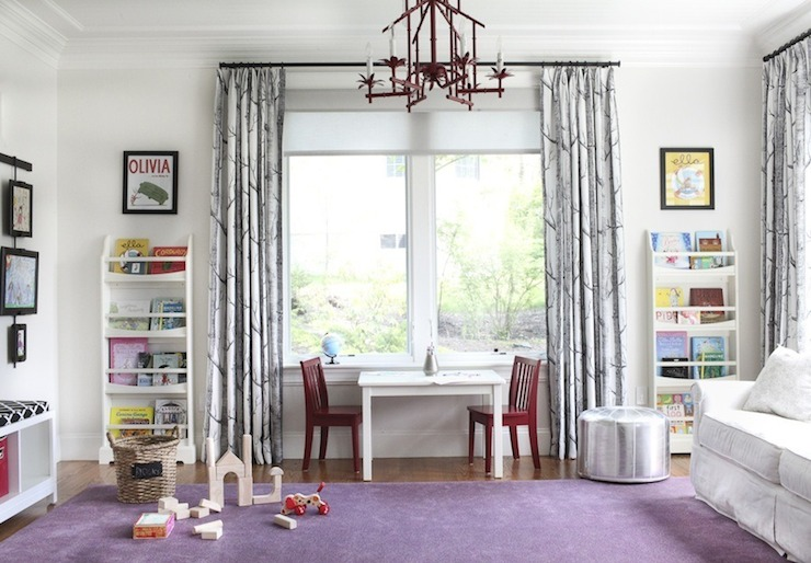 Playroom Ideas Transitional Girls Room Style Me Pretty