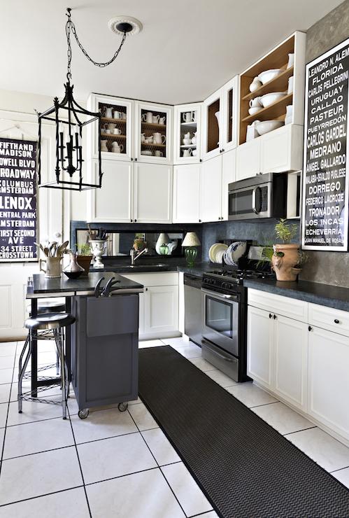 Doorless Kitchen Cabinets Design Ideas