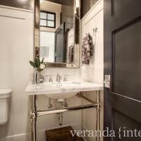 Venetian Mirror Medicine Cabinet - Transitional - bathroom