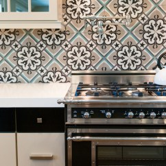 Kitchen Pot Filler Accent Rugs Moroccan Backsplash - Mediterranean Brittney ...