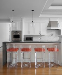 Lucite Counter Stools - Contemporary - kitchen - Morris ...