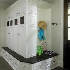 Corner Bench Seating For Kitchen Foam Mats Built In Mudroom Cabinets - Traditional ...