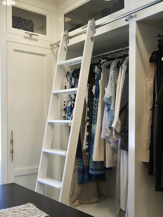 Closet Ladder  Transitional  closet  Brooks  Falotico