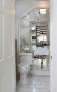 Wall Mounted Sink - Contemporary - bathroom - Dowling Kimm ...