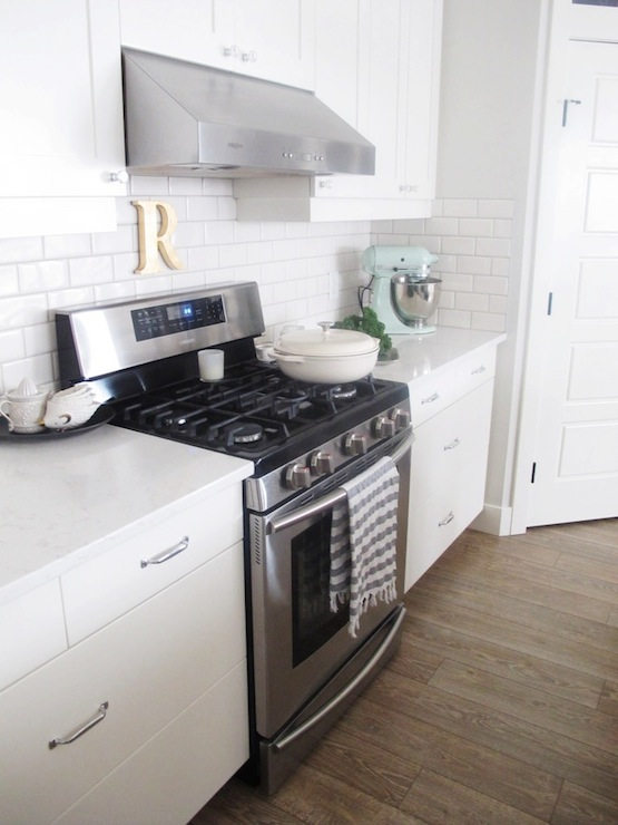 Mismatched Kitchen Cabinets Transitional Oh My Dear Blog