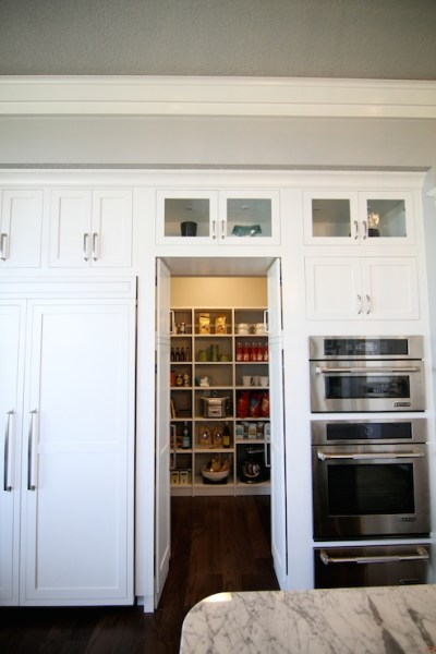 hidden kitchen pantry cabinets Pantry Doors Design Ideas