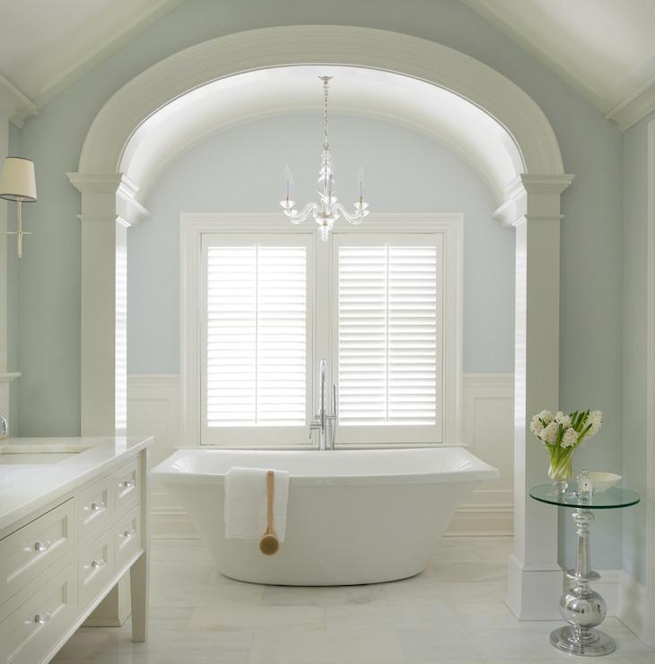 Kohler Escale Tub  Transitional  bathroom  Titus Built
