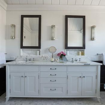Craftsman Style Bathroom  Cottage  bathroom  Laura Hay