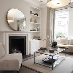 Modern Slipper Chair Mickey Mouse Recliner Mirror Over Fireplace - Contemporary Living Room Laura Hammett