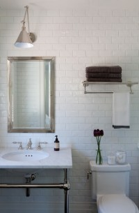 Over The Toilet Shelf - Transitional - bathroom - Marie ...