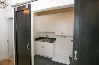 Laundry Room Barn Doors - Transitional - laundry room ...