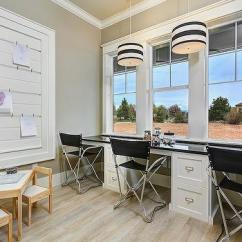 Striped Directors Chairs Folding Chair Aluminium Homework Room - Traditional Den/library/office Benjamin Moore Revere Pewter Martha O'hara ...