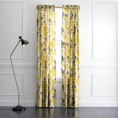 Grey And Yellow Curtains For Living Room Colour Ideas 2017 Dwellstudio Landsmeer Curtain Panel